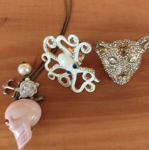 Betsey Johnson Vintage Jewelry